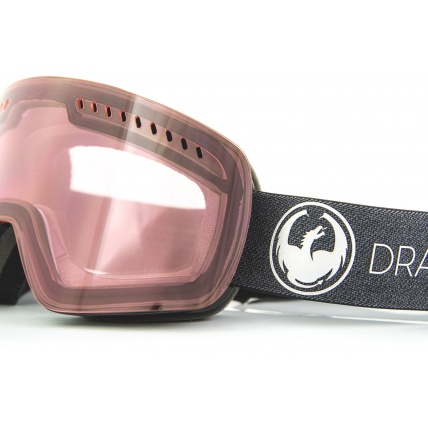 Dragon NFXs Echo Transition Light Rose Snow Goggles