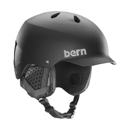 Bern Watts EPS Matte Black Snow Helmet