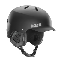 Bern - Watts EPS Matte Black Snow Helmet