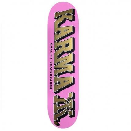 Karma Kizla Pink Skateboard Deck