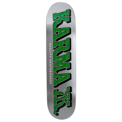 Karma Kizzla Weed Skateboard Deck 8.0