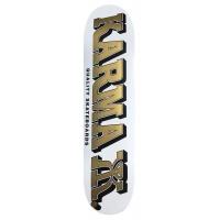 Karma - Kizzla White Gold 8.25 Skateboard Deck
