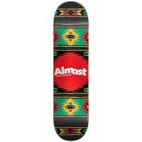 Almost - Rasta Aztek Hybrid Skateboard Deck 7.75in