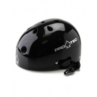 Protec - Gloss Black Helmet - Certified