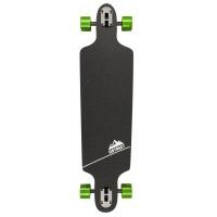 D Street Longboards - Polygon Tri Drop Through Longboard Green