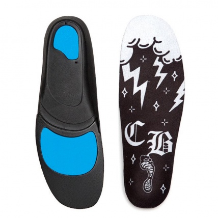 Remind Cush Chico Brenes Performance Orthotics Insoles top and bottom