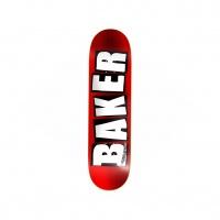 Baker - Brand Logo Red Foil 8.0 Deck