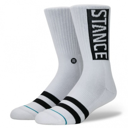 Stance Uncommon OG Classic Crew White