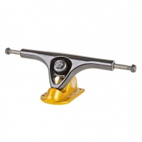 Paris - 180mm V2 Longboard Trucks in Black and Gold