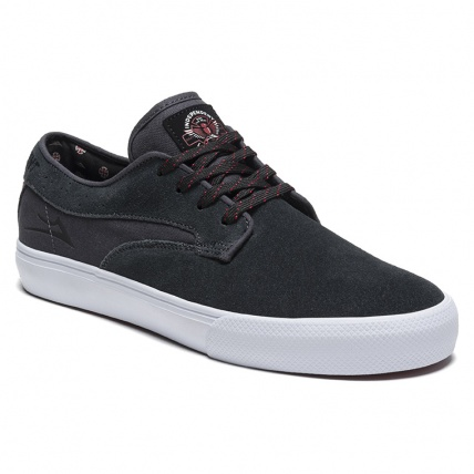 Lakai Riley Hawk X Indy Charcoal Skate Shoes