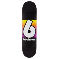 Birdhouse Skateboards - Block Logo Rainbow 8.0 Skateboard Deck