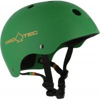 Protec - Classic Helmet in Rasta Green