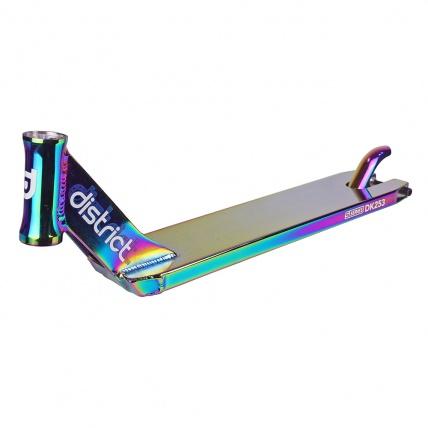 District S-Series DK253 Colour Chrome Scooter Deck