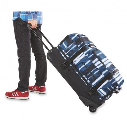 Dakine Split Roller 85L Luggage Travel Bag in Carbon in use