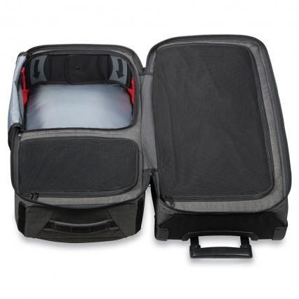 Dakine Split Roller 85L Luggage Travel Bag in Carbon open