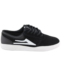 Lakai - Griffin XLK in Black and White Suede