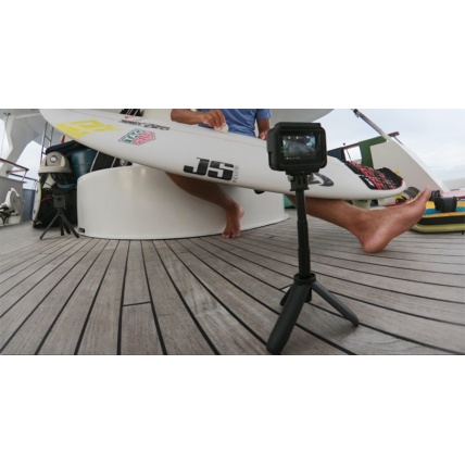 GoPro Shorty Mini Extension Pole and Tripod tripod in use