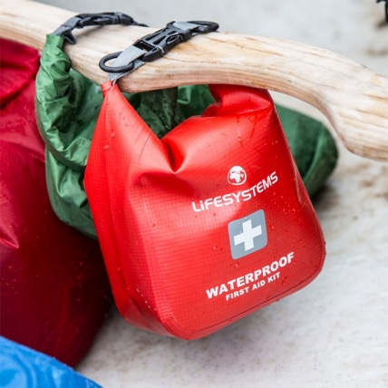 Life Venture Waterproof First Aid Kit in use canoe