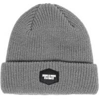 Tilt - Industrial Logo Beanie in Charcoal Grey