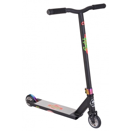Crisp Switch Stunt Scooter Matte Black Neochrome