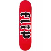 Flip - HKD 7.5in Red Logo Skateboard Deck