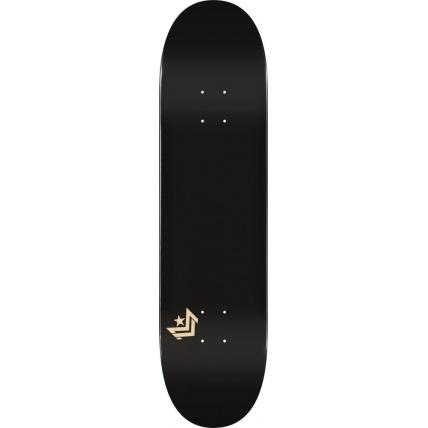 Mini Logo Chevron Skateboard Deck No242 Birch Black