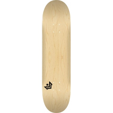 Mini Logo Chevron Skateboard Deck No242 Birch Natural