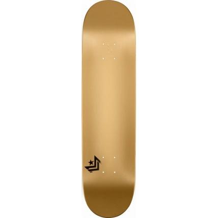 Mini Logo Chevron Skateboard Deck No242 Birch Gold