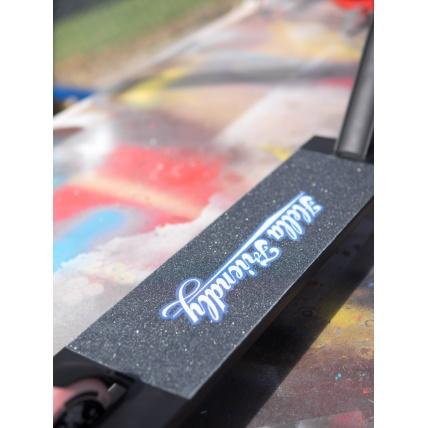 TSI Paramount deck, Tilt Fork, Tilt Clamp, Lucky Zephyr wheels, Hella Grip