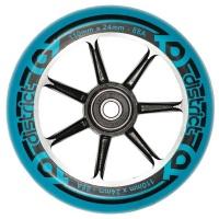 District - 110mm Cast Alloy Core Wheel Blue on Black