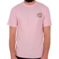 Skateboard Cafe - Planet Donut T-Shirt Pink