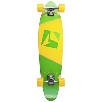 Atlantic Board Co - Kicktail 37in Calypso Longboard