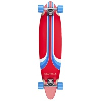 Atlantic Board Co - Pintail Atlas Red 40in Longboard