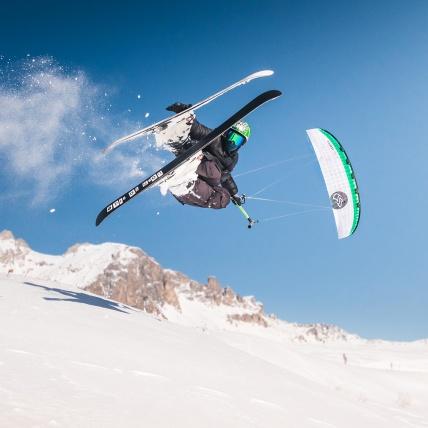 Flysurfer Soul Kitesurfing Foil Kite Snowkiting Ski