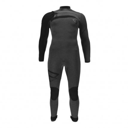 Brunotti Bravo 3/2 FZ Mens Full Summer Wetsuit Black front