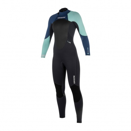 Mystic Star 3/2mm Womens Full Summer Wetsuit Navy front
