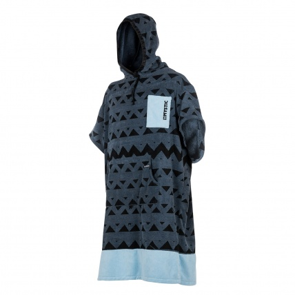 Mystic Poncho in Pewter