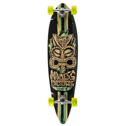 Mindless Rogue 2 Complete Longboard in Green Black