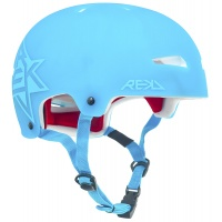 Rekd Protection - Elite Icon Blue Semi-Transparent Helmet