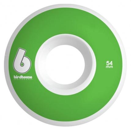 Birdhouse B Logo 54mm Green Skateboard Wheels