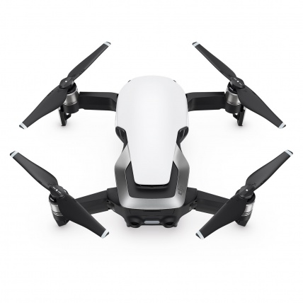 DJI Mavic Air Drone white grounded