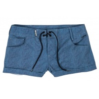 Mystic - Cheat Power Blue Womens Boardshort