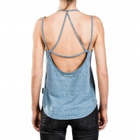 Mystic - Ridge Powder Blue Womens Singlet