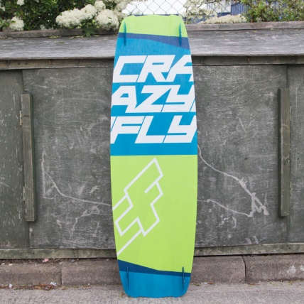 CrazyFly Raptor 135cm Ex Demo Complete Kitesurf Board
