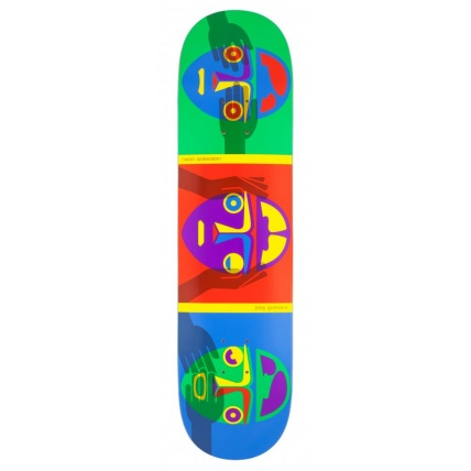 Alien Workshop Guevara No Evil Pro Skateboard Deck 8in