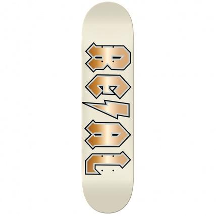Real Skateboards Deeds Elite Pro 8.25 Skateboard Deck Cream
