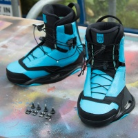 Ronix  - Kinetik Project Ex Demo Wakeboard Boots UK10