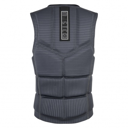 Mystic Majestic Wakeboard Impact Vest in Grey back