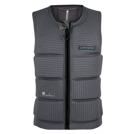 Mystic Majestic Wakeboard Impact Vest in Grey front