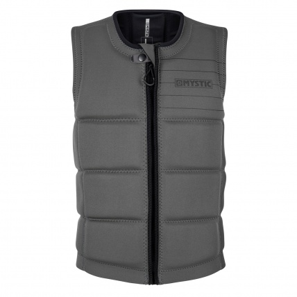 Mystic Brand Wakeboard Impact Vest Grey front